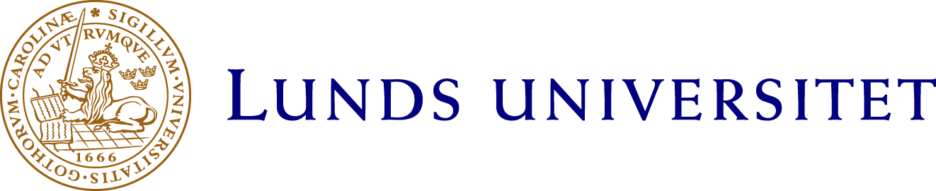 Lunds universitets logotyp, länk till Lunds universitet